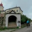 Kostel sv. Máří Magdalény v Olešnici s krytým schodištěm