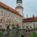 Nové Město nad Metují - zámek. Je zavřený, takže trpaslíky neuvidíme ani dneska.
