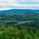 Výhled k Orlickým horám - Vrchmezí. Tam také nedávno vyrostla nová rozhledna, ale to zase někdy příště...