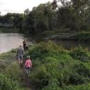 Soutok Bečvy a Moravy se nachází nedaleko Troubek. Ano, jsou to TY Troubky, známé z katastrofálních povodní v roce 1997.