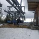 Pak další fotka na nefunkční lanovce Sněžník