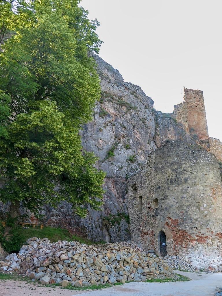Hrad byl však bohužel z technických důvodů zavřený.