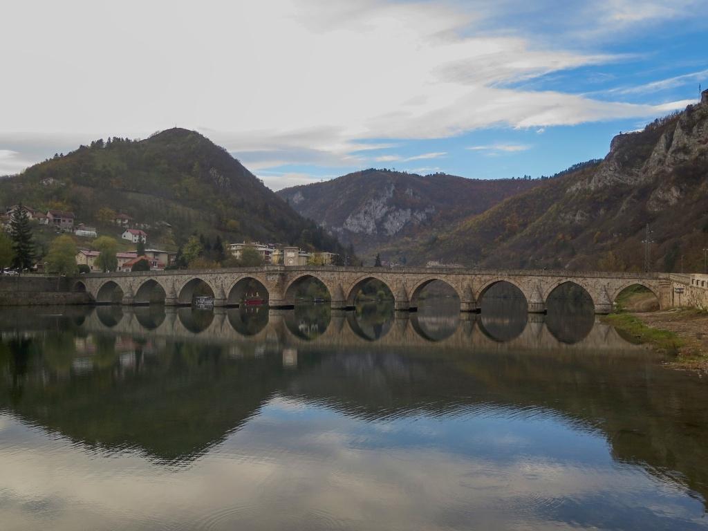 Most Mehmeda Paši Sokoloviće, Most na Drině, je od roku 2007 na seznamu UNESCO.