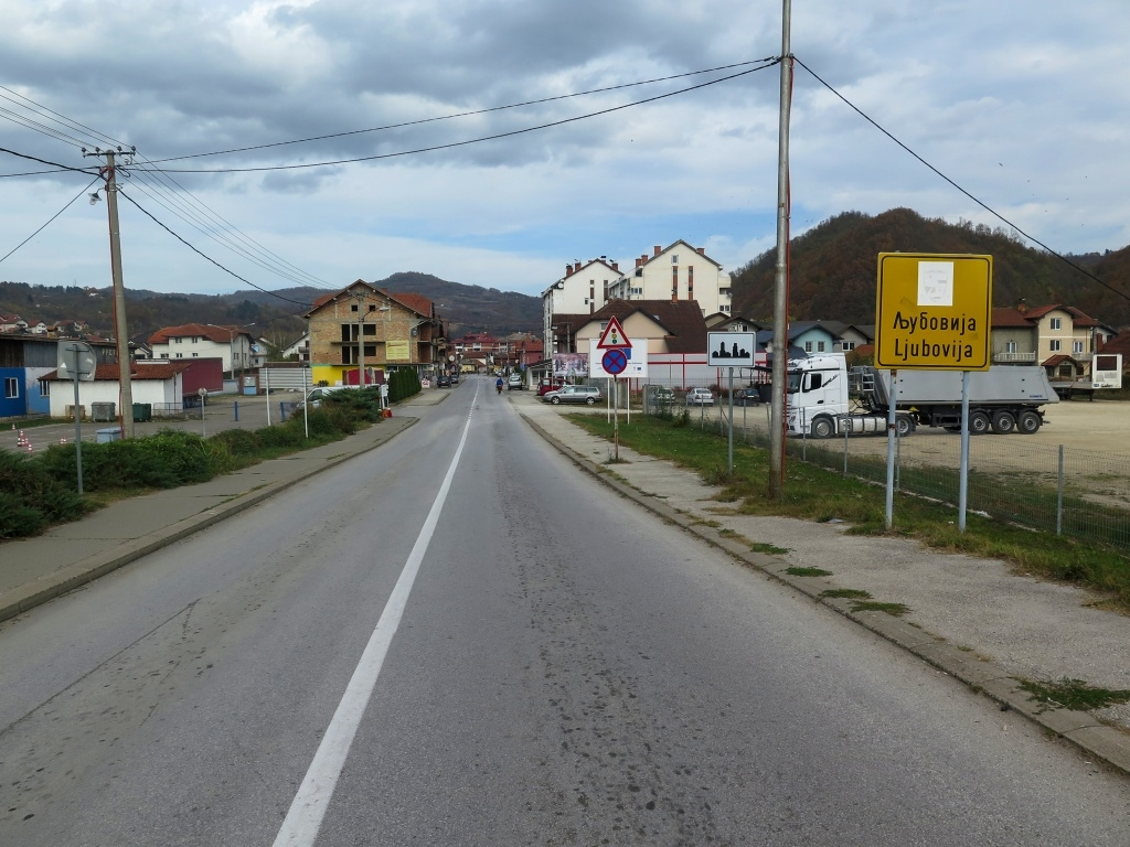A jsme v Ljubovitě, okruh se uzavřel.