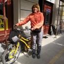 Babičce se moc pěšky chodit po městě nechtělo, tak si - podobně jako vloni v Berlíně - půjčila městské kolo a naše cesty se tak rozdělily.