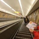 Nás už to pěšky také nebavilo, tak jsme se svezli metrem...