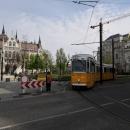 Budapešťské tramvaje jsou kouzelné, svezli jsme se kousek po nábřeží
