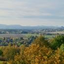 I na druhou stranu je výhled neokoukaný - na stolové hory nad řekou Labe (Saské Švýcarsko)