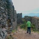 Zbytky gotického hradu ze 14. století