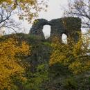 Dodnes se zde dochovaly části věžovitého paláce horního hradu a zbytky vnějšího opevnění.