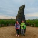 Nazvaný též Kamenný pastýř a měří 3,5 metru.