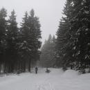 Je nám jasné, že výhledy dnes žádné nebudou, ale ten sníh je na jedničku...