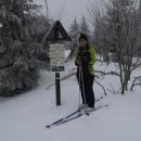 Podle starších fotek odhadujeme vrstvu sněhu na třičtvrtě metru