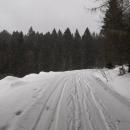 Poslední 3 km k autu vypadají asi takto.