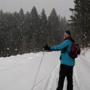 Zima se fakt nevzdává, alespoň ve výškách nad 800 metrů nad mořem.