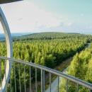 Výhled zpět k horám Bystřickým