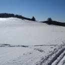 Počasí nemá chybu, mrzne až praští, ale je slunečno.