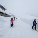Ale za chvíli jsme byli na Jizerce a obdivovali sněhové mantinely.