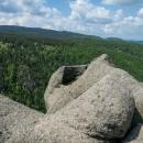 Rybníček na vrcholku jedné skalky