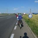 Cyklostezka před městem příjemně překvapila