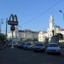 Jsme druhý den na cestě a už navštěvujeme druhý McDonald. Druhý z celkových pěti... resp. šesti, ale to ještě netušíme, že ten poslední bude ve Wroclawi na nádraží.