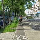 I v centru Devy mají cyklopruhy