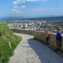 Vyhlídka z hradu na město