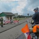 Přehoupli jsme se zpět do Zakarpatské oblasti, ta kontrola dokladů je zde kvůli těsné blízkosti polské hranice.