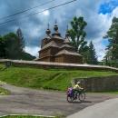 Východní Slovensko je vyhlášené svými dřevěnými kostelíky.