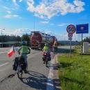 Přejeli jsme do Polska, kde jsme anabázi po Karpatech zakončili...