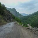 Prvních 85 km v horách bylo po asfaltu.