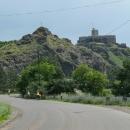 Pevnost ve městě Akhaltsikhe