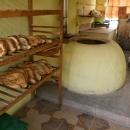 Gruzínská pekárna chleba