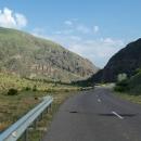 Údolí řeky Mtkvari
