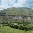 Fantastické výhledy na areál skalních bytů...