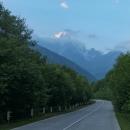 Pohled na horu Ušba