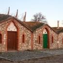 Typické vinařské sklepy ve Vrbici