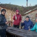 Degustace před sklepem vinařství Bočko ve Vrbici