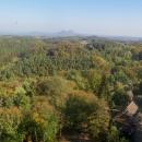 Výhled z Housky na Bezděz