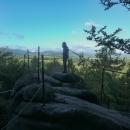 Vyhlídka na Rychlebské hory