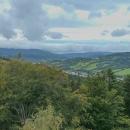 Vyhlídka do údolí