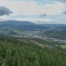 Výhled na město Jeseník