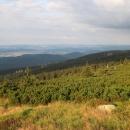 Výhled do polského podhůří Krkonoš