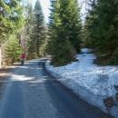 První sníh kolem 850 m n. m. si fotím (jako vždycky)