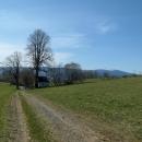 Kaplička nad Šléglovem s výhledem na všechny strany (napravo Králický Sněžník)