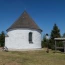 Kunštátská kaple (kaple Navštívení Panny Marie) - tak tady jsme už taky nebyli pěkných pár let