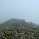Kopec Bartková (1790 m). Louky zde pomalu přecházely v souvislé suťovisko.
