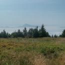 Velký Choč vypadal jako ostrov vynořený z mračného nebe.