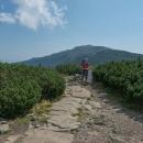 I když jsme nijak nespěchali, v půl dvanácté jsme stáli na Malé Babí hoře (1517 m)