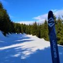 Moje, po pětadvaceti letech, nové lyže mají šupiny a jsem s nimi spokojená. Jen dnes v tom rozměklém sněhu to moc nejede. Ale to nejede nikomu. Ani těm, co se snaží mazat.... Ale to je jedno. Hlavně že je po čem jezdit.